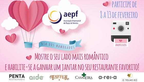 Viva o romance com a AEPF