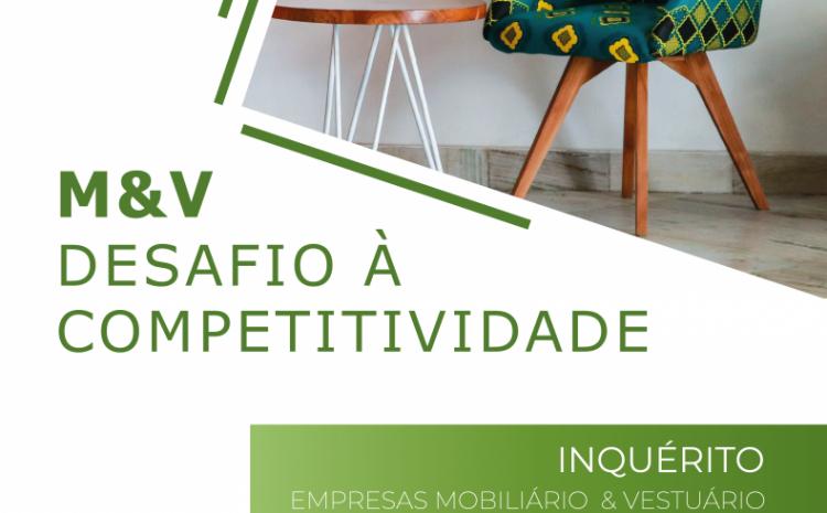 Inquérito às empresas do setor do mobiliário e têxtil
