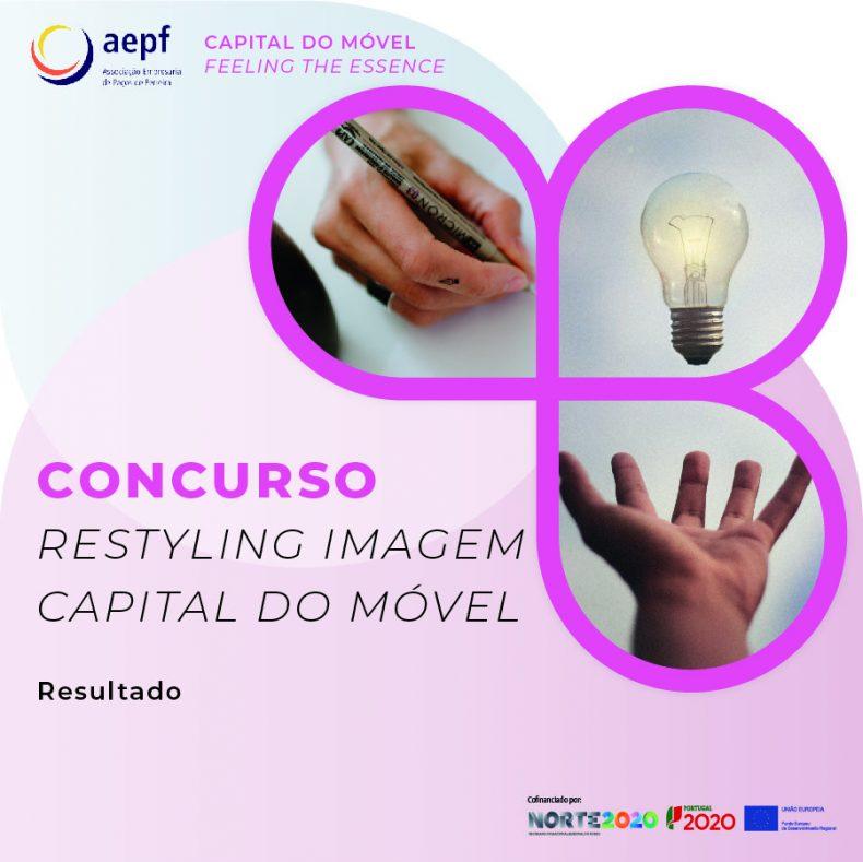 Resultados Concurso Capital do Móvel – Feeling the Essence, restyling da marca Capital do Móvel