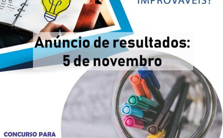 Concursos têm data de resultados definida para 5 de novembro