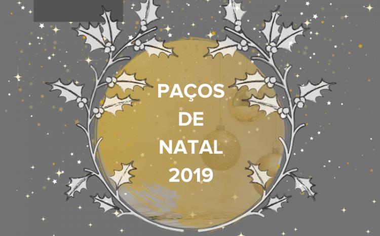 Atividades Paços de Natal 2019
