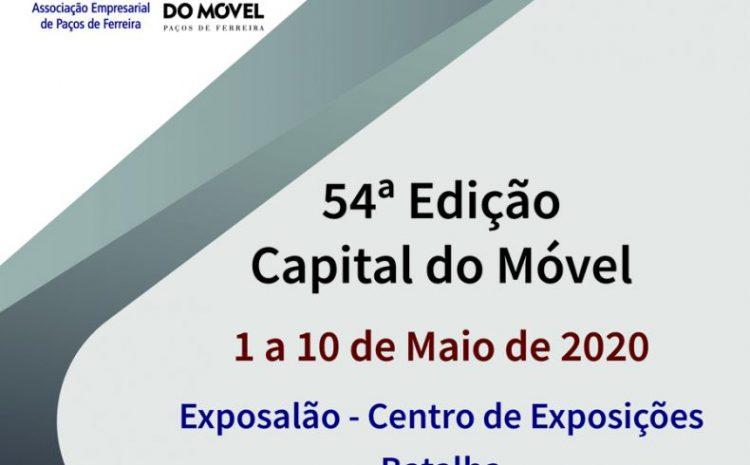 54ª Capital do Móvel – 1 a 10 de maio de 2020