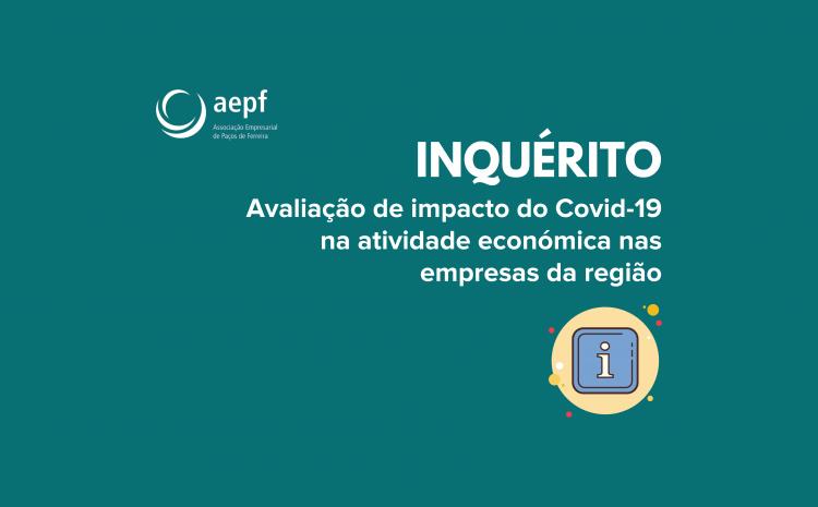 Avaliação de impacto do Covid-19 na atividade económica nas empresas da região