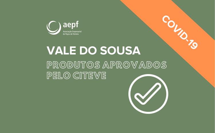 Produtos Aprovados pelo Citeve – Empresas do Vale do Sousa