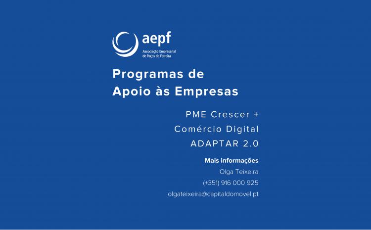 Programas de Apoio às Empresas a aguardar abertura de candidaturas
