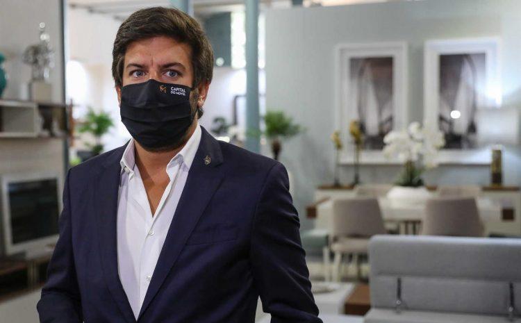 Francisco Rodrigues dos Santos, líder do CDS, presente na 54ª Capital do Móvel