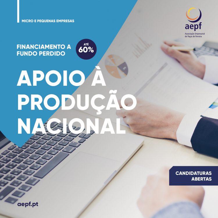 Apoio à produção Nacional