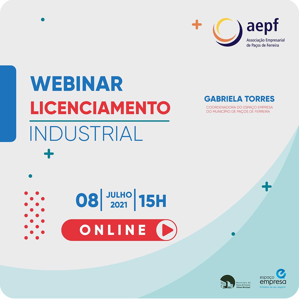 Webinar de Licenciamento Industrial