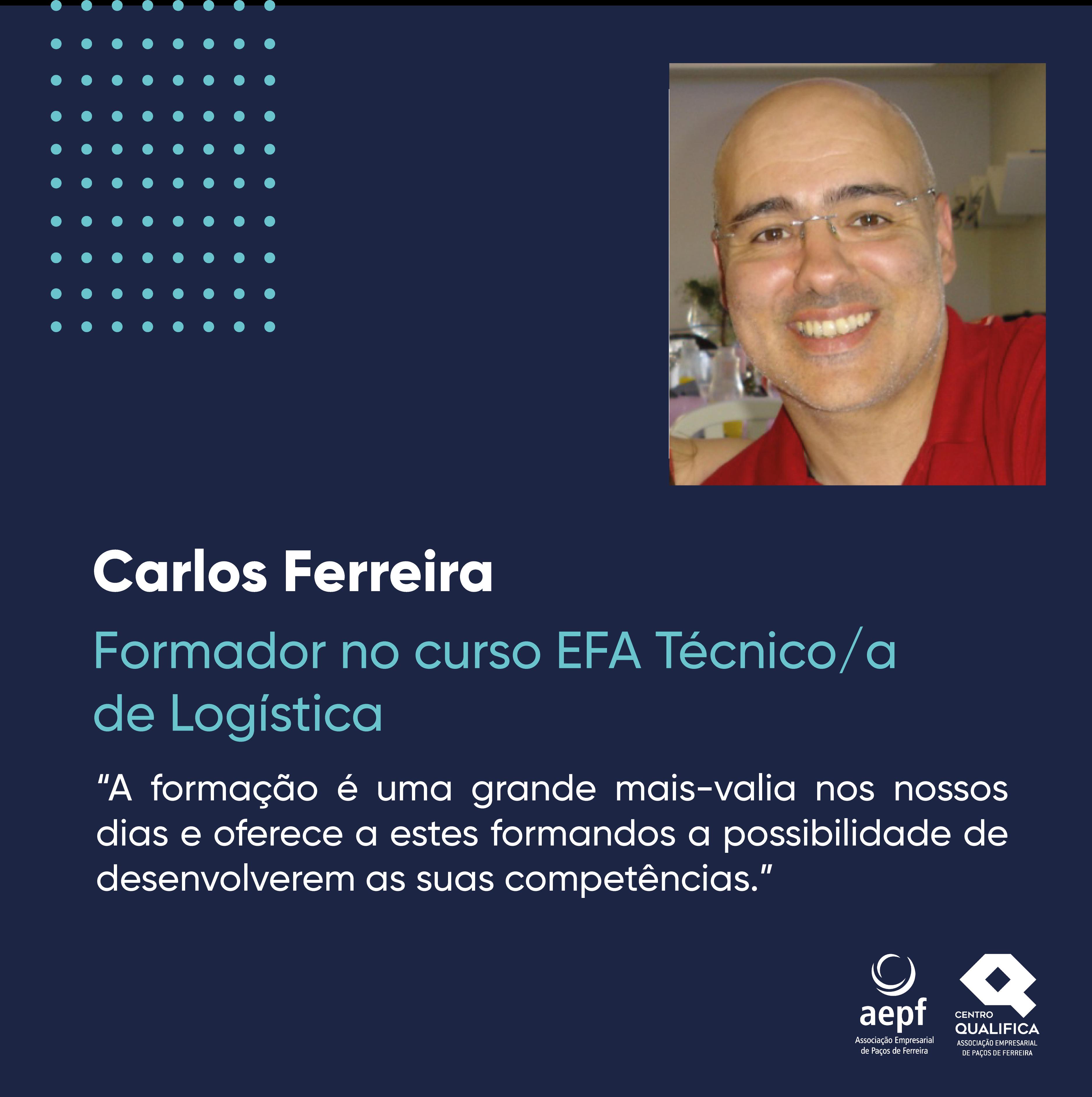 Testemunho Carlos Ferreira