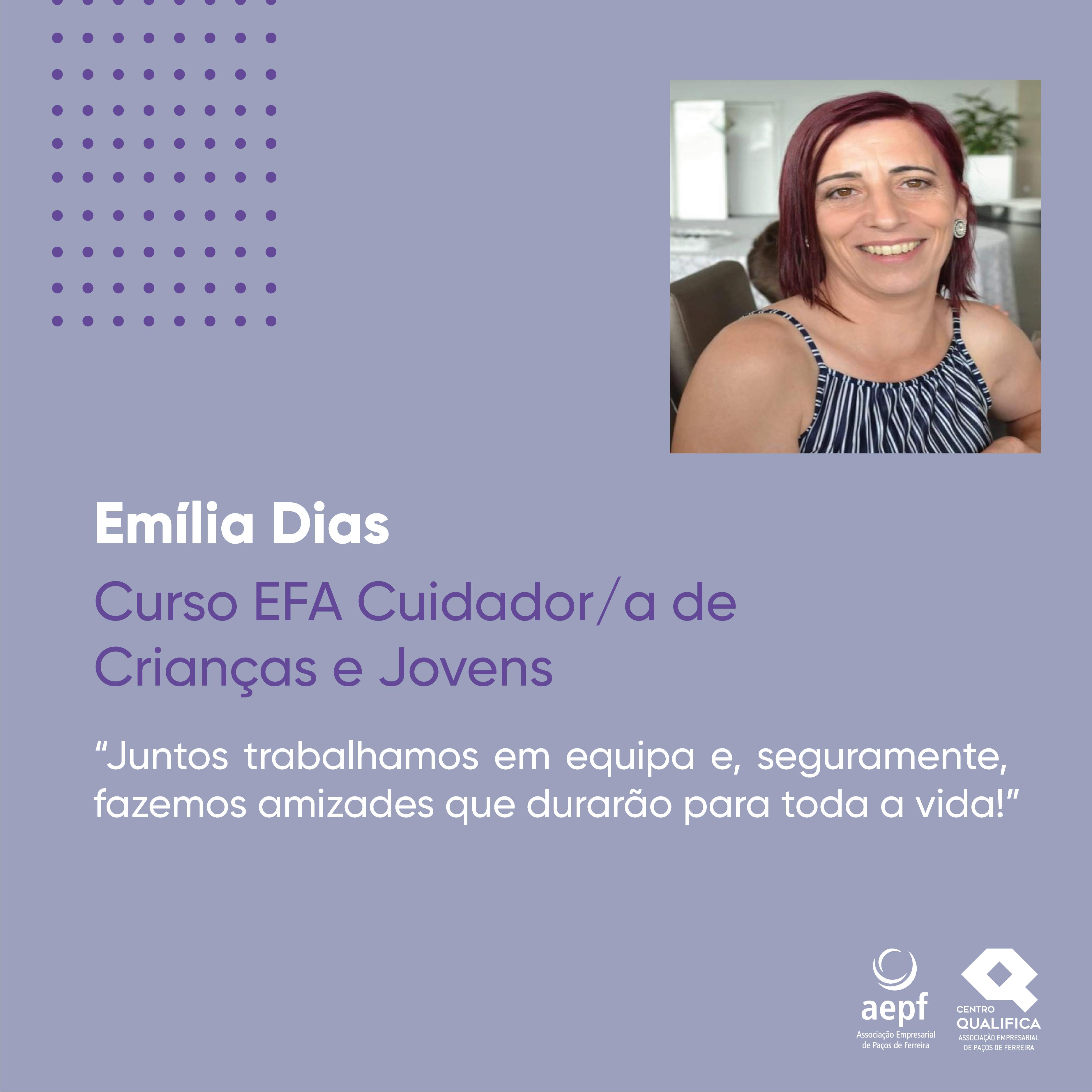 Testemunho Emília Dias