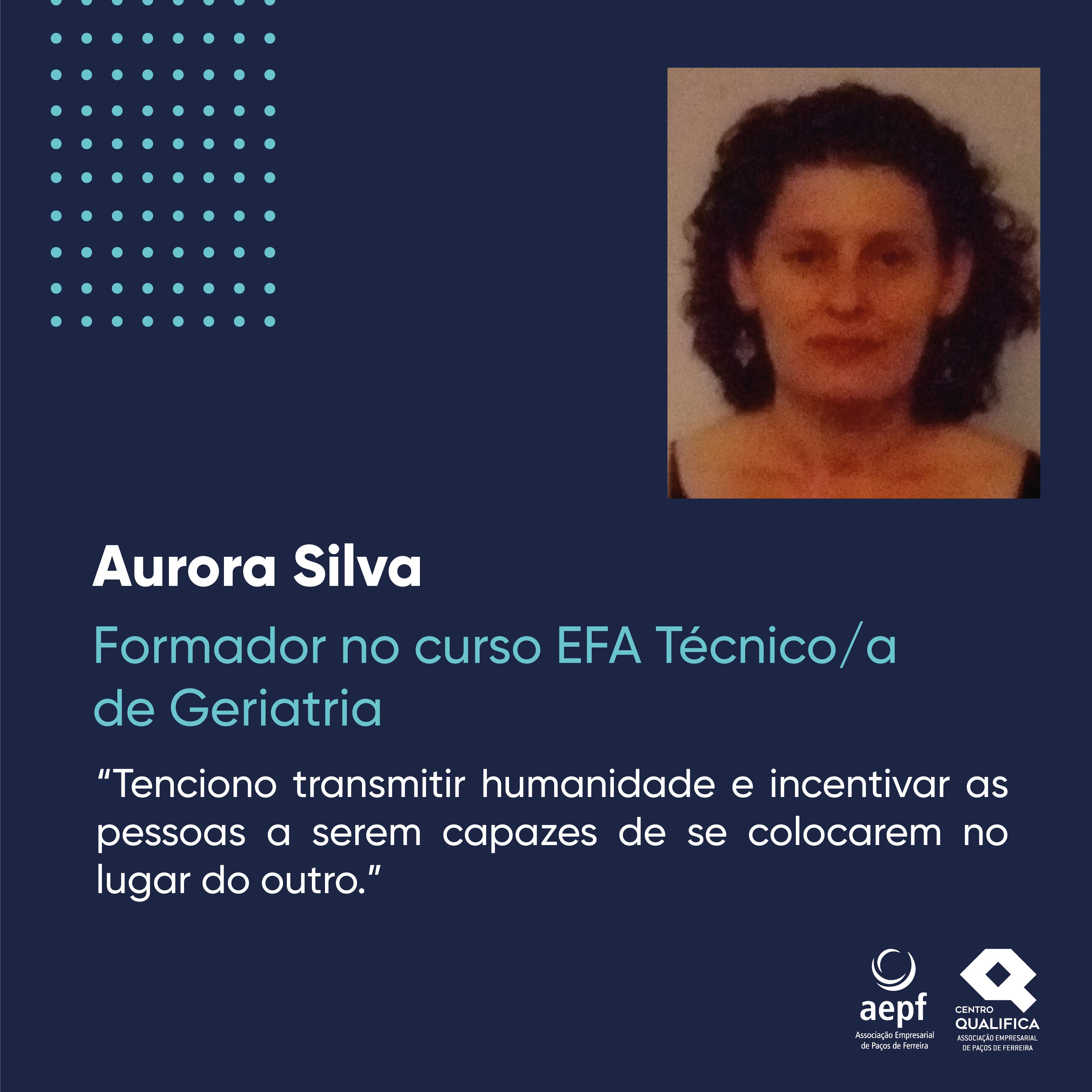 Testemunho Aurora Silva