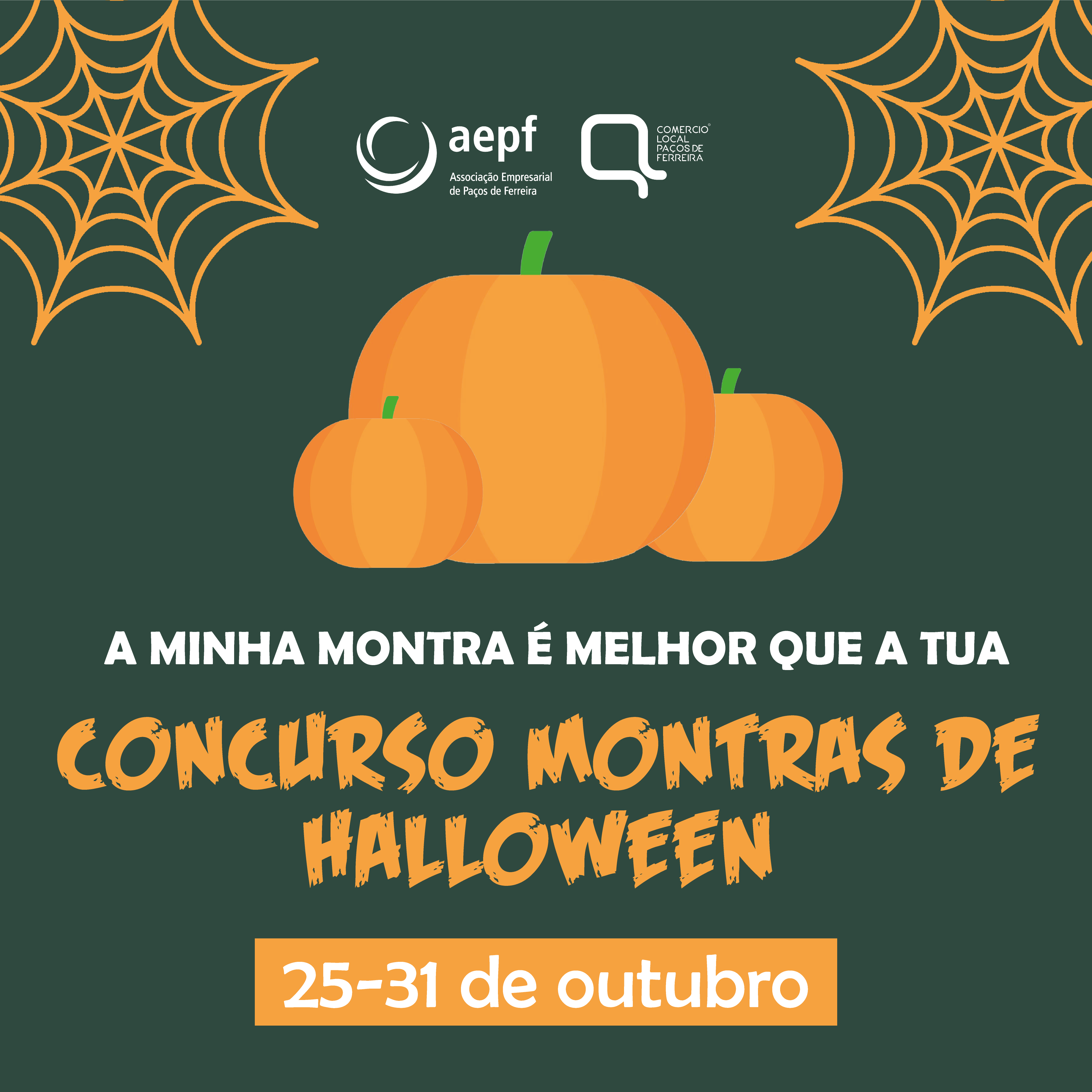 """Montras de Halloween: Concurso """"A Minha Montra é Melhor do que a Tua"""""""